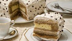 La ricetta della torta millefoglie al caffè