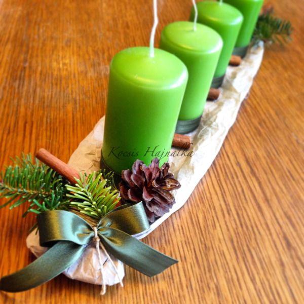 3 karácsonyi dísz 1 stílusban