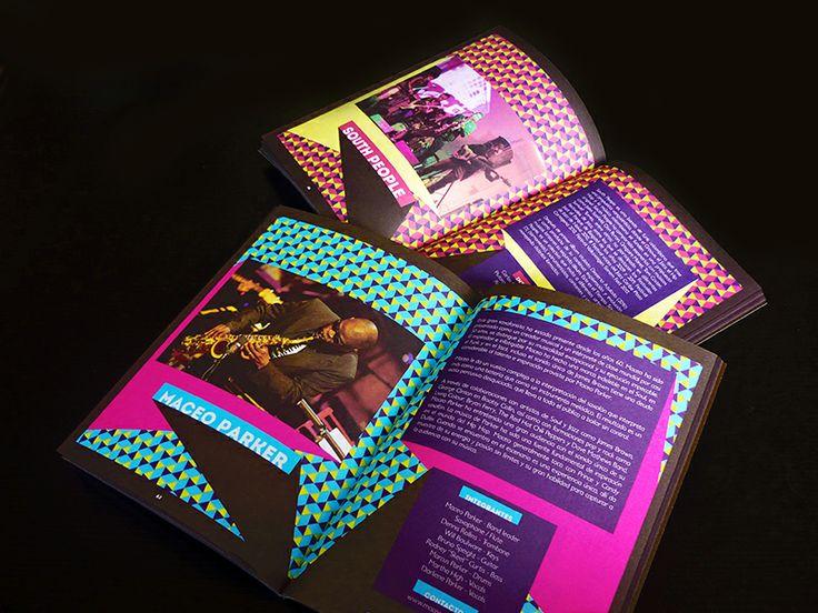 Catálogo / XVIII Festival Jazz al Parque. Diseño editorial y diagramación: Oscar Zambrano.  Bogotá, 2013.