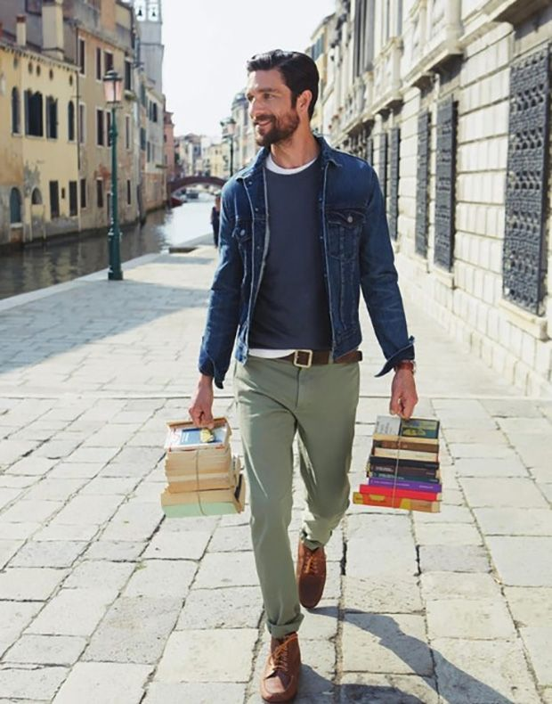 urban men Denim Jacket for Men - A Must Have #streetstyle #fashion #fashionformen