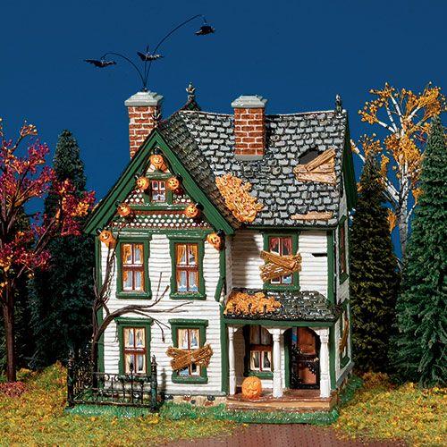 wish list department 56 halloween spooky farmhouse decoration - Miniature Halloween Decorations