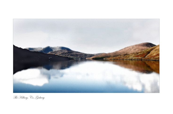 The Killary. Co. Galway by Jessica Priddy on ArtClick.ie