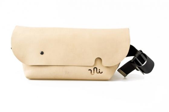 MESSENGER BAG (S)/NATURAL
