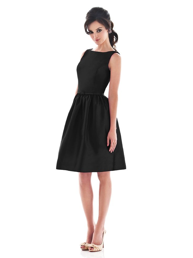 Alfred Sung Style D488   .  black bridesmaid dress ...this is the dress for reals but in multi color scheme.