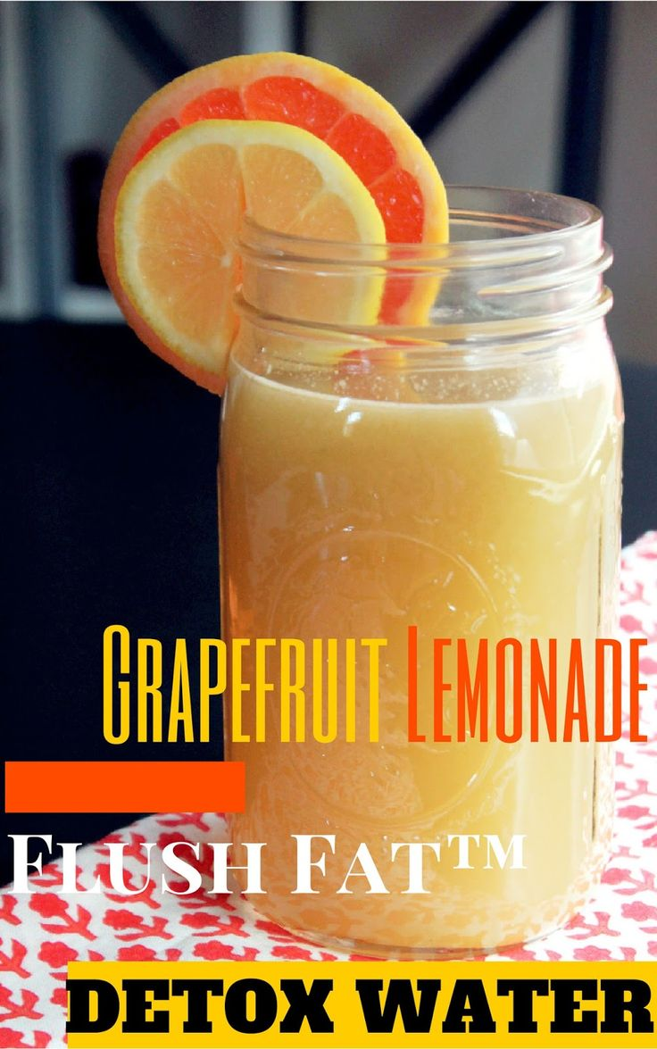 Flush Fat™ Grapefruit Lemonade