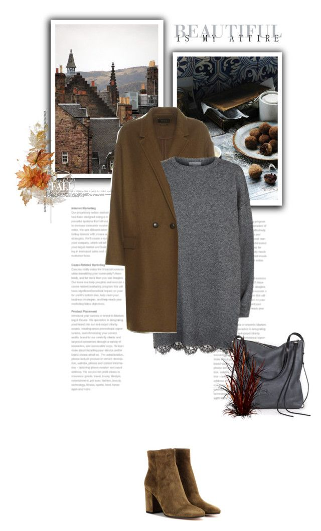 """Grey & Brown"" by bliznec ❤ liked on Polyvore featuring Melie Bianco, Gianvito Rossi, Isabel Marant, R/R Studio, Ina Kent and Fall"