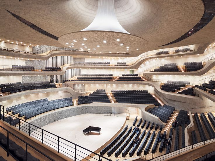 Herzog and De Meuron's new philharmonic in Hamburg, Germany is an impressive feat of technology. #algorithms #architecture
