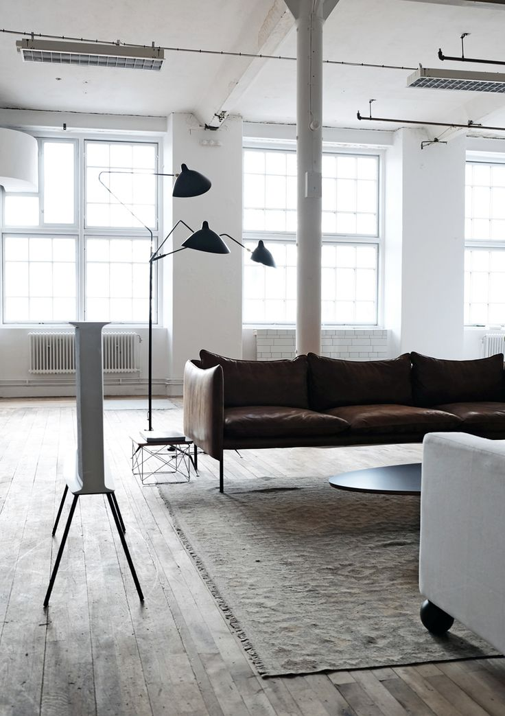 Inspired space in Spinneriet, Norway.