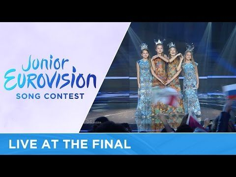 The Water of Life Project - Water Of Life (Russia) LIVE Junior Eurovision 2016 - YouTube