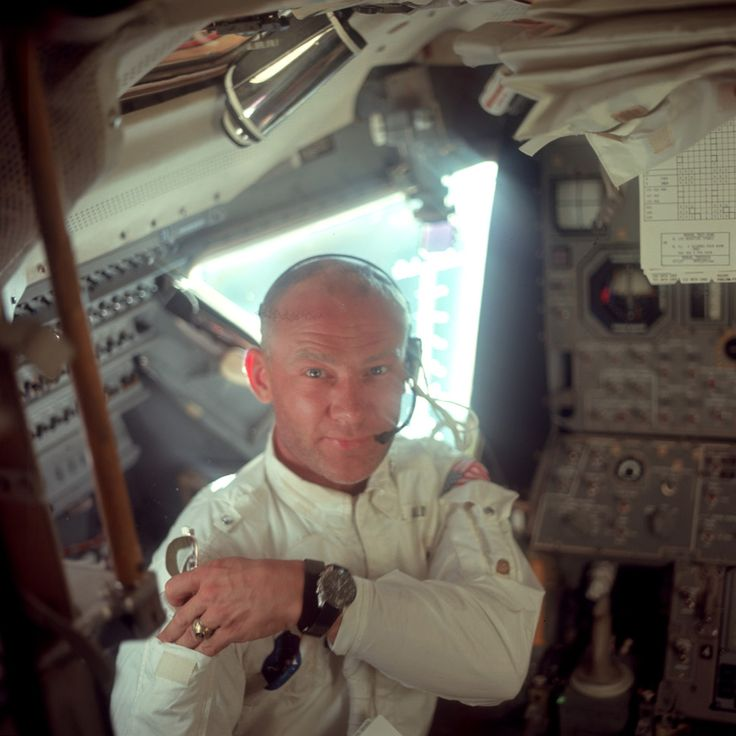 Lunar Module pilot Buzz Aldrin. This photo has (and forever will be) Omega's best marketing moment.