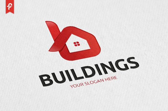 Buildings Logo by ft.studio on @creativemarket