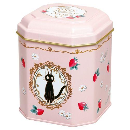 Kiki's Delivery Service Can Tea Box Studio Ghibli Jiji | eBay