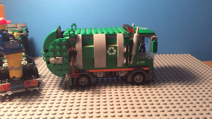 My daughter's second animation: Lego Garbage Pickup #daddy #love #family #dad #daughter #baby