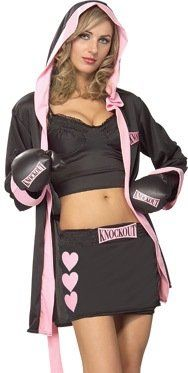Sexy Boxer Girl Costumes for Halloween