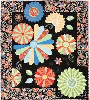 Just heard a fantastic speaker In Santa Barbara last night.  She does modern Dresden plate quilts, and they are outstanding!