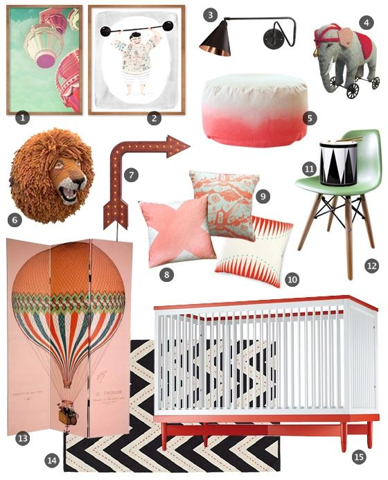 17 Best Ideas About Circus Room On Pinterest