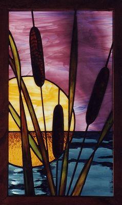 """2007 Small Panels 1st. Place """"Sound Sunset"""" by Patty Zukerowksi Avon, NC"""
