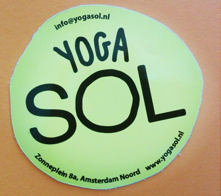Sticker Yoga Sol