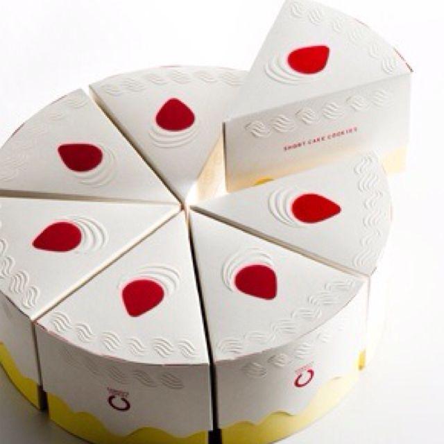 cake package this is too cute #embrulhos #embalagens #packaging
