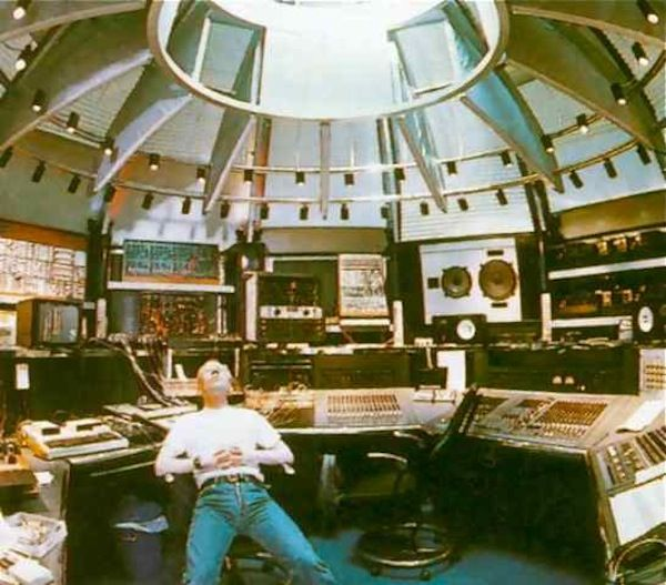 Vince Clarke (best synth studio ever?)