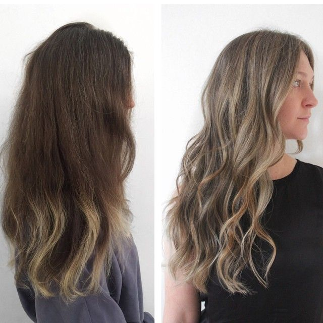 Have you started going prematurely grey, but it kinda looks amazing on you? It's ok to embrace it! Get some ashy grey highlights to work it in and the transition won't feel so daunting.  Color : @kccarhart  Cut/Style : @styledbylizsustaita  #ramireztran #ramireztransalon #greyhair #silverfox #silverhair #ashyhair #saltnpepa #longhair #pretty #hair #color #colorcorrection