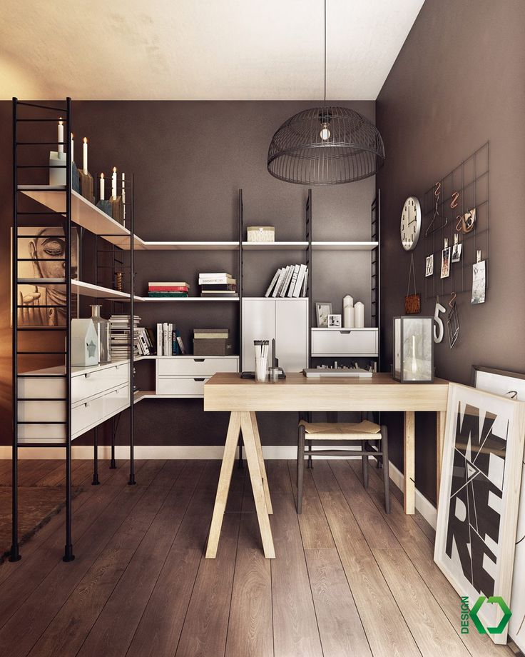 Home Designing U2014 (via Home Office Storage And Divider Combo)