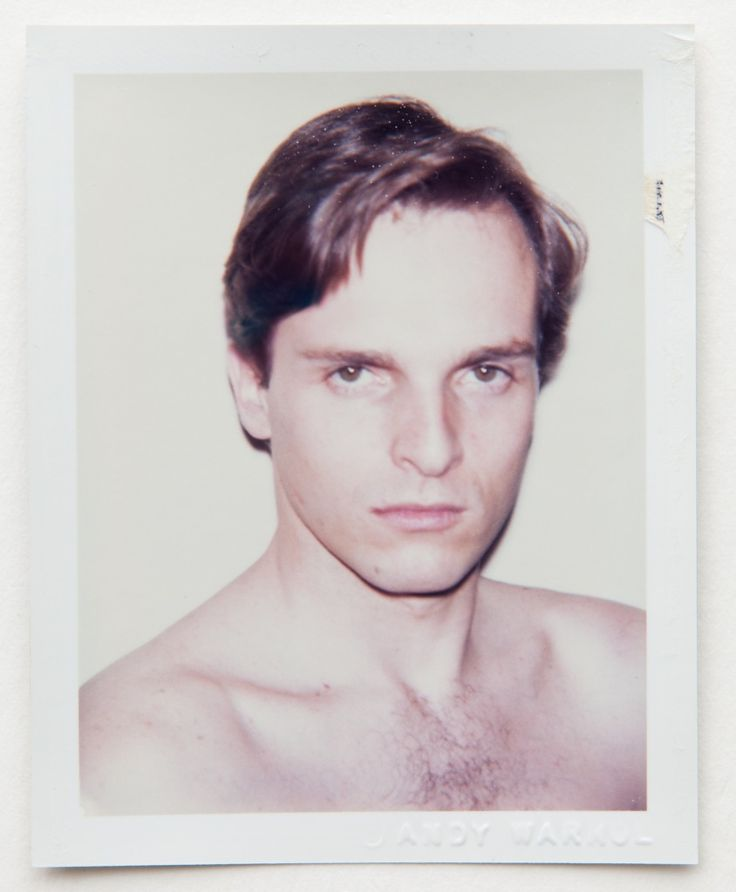 Andy Warhol - Miguel Bose | From a unique collection of color photography at http://www.1stdibs.com/art/photography/color-photography/