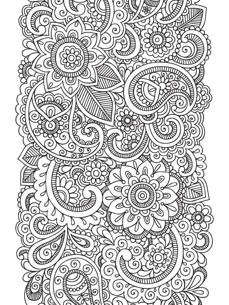 Mais de 1000 ideias sobre desenhos de mandalas no - Papel para dibujar ...
