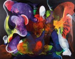 Ziyan Yıllar Tual Üzerine Akrilik 175 x 215 cm Gülten İmamoğlu
