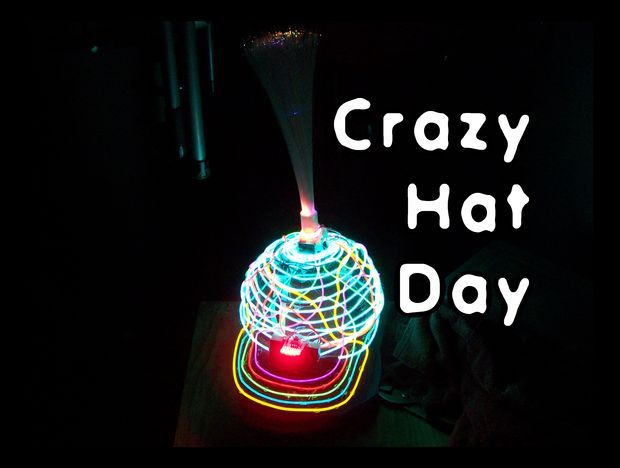 crazy hat day | Picture of Crazy Hat Day!