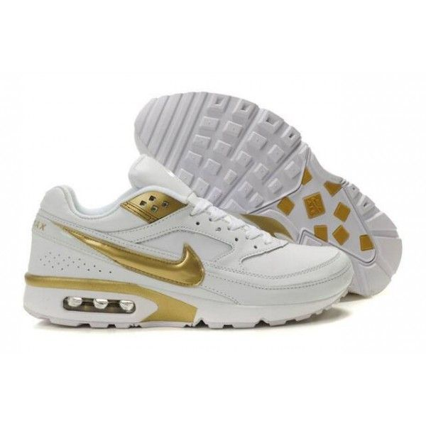 sports shoes b547a f2eba ... switzerland mens nike air max classic bw golden white for my papi in  2018 pinterest nike
