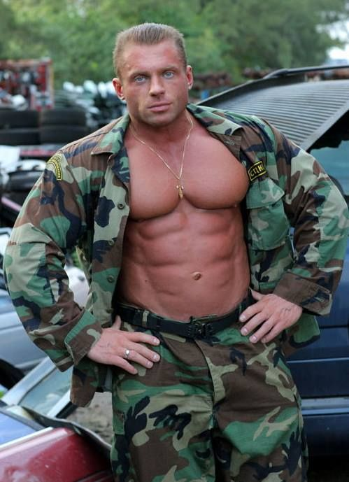 2 muscular military studs fuck raw 1