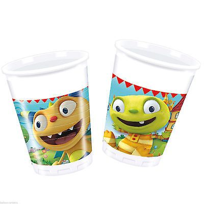 8 Disney Henry Hugglemonster Birthday Party 7oz Disposable Plastic Cups