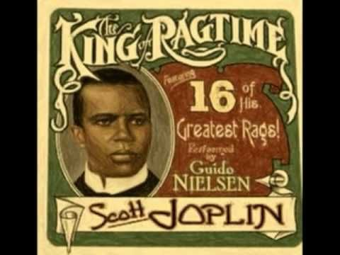 "Scott Joplin (1868-1917)  "" The Entertainer "" on a piano roll  = = = = = = = = = = = = = = = = = =    The BLUES (1925-1945)  Texas Alexander  Pink Anderson  Kokomo Arnold  Barbecue Bob  Scrapper Blackwell  Black Ace  Ed Bell  Blind Blake  Ishman Bracey  Big Bill Broonzy  Richard ""Rabbit"" Brown  Willie Brown  Bumble Bee Slim  Gus Cannon  Bo Carte..."