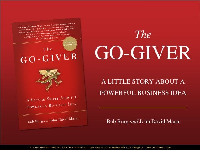 the go giver free book  pdf