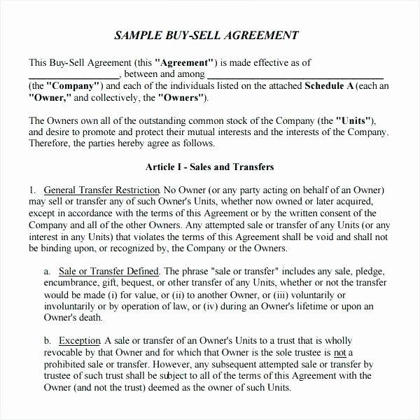 Shareholder Buyout Agreement Template Fresh Member Buyout Agreement Template Llc Holder Operating Business Agreement Template Sample Resume Templates Word