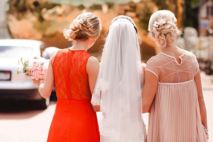 подружки невесты , украшение в волосы