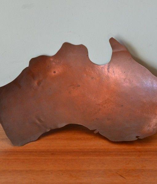 Vintage copper bowl Australia