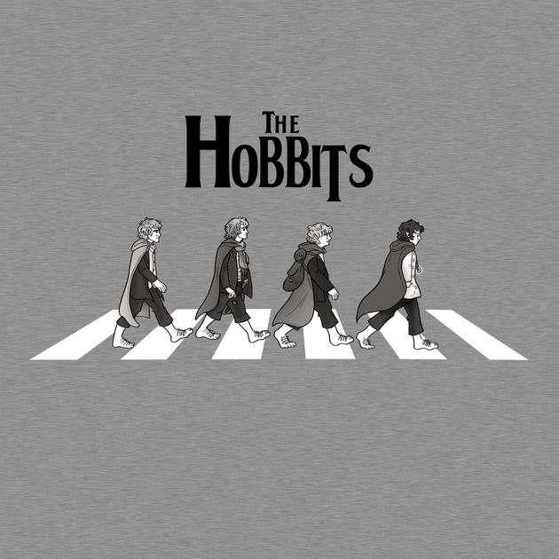 Hobbit Road - Lord of the Rings T-Shirt I just died alil bit...AMAZING!!! =)