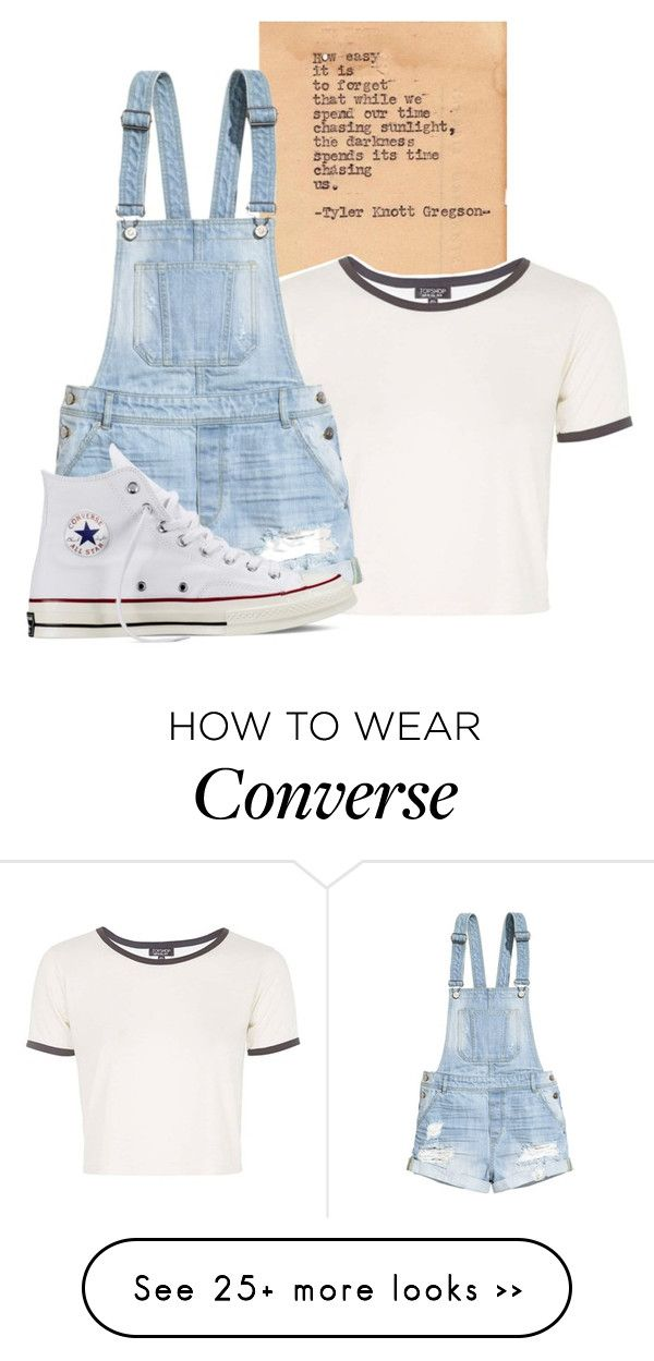 """""""Rachel; @cupcake100-i"""" by chelseaferguson17 on Polyvore featuring Topshop, H&M and Converse"""