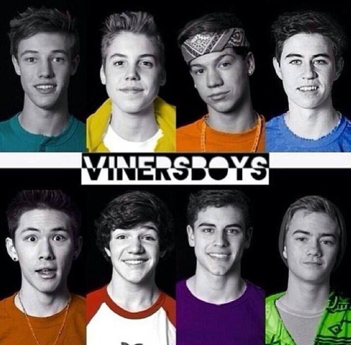 Vine BOYS!  Cameron, Matt, Taylor, Nash, carter, jack, Jack and the other one I always forget lol