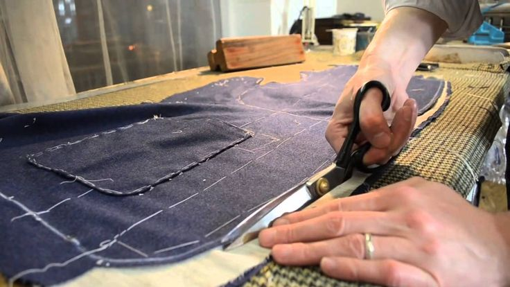 The Making of a Coat #23   Shaping the Foreparts, Pt 1