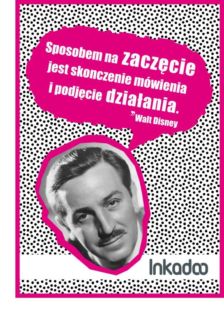 #biznes #cytat #cytaty #business #quote #inkadoo #success # motywacja #motivation #waltdisney  #disney #retro #poster