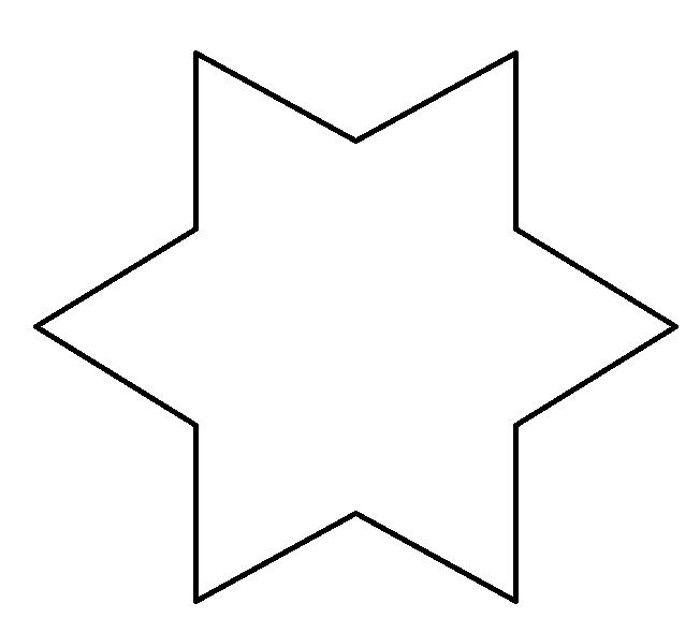 Molde De Estrela 30 Imagens Para Imprimir E Recortar Artesanato Passo A Passo Molde Estrela Molde Estrela De 5 Pontas