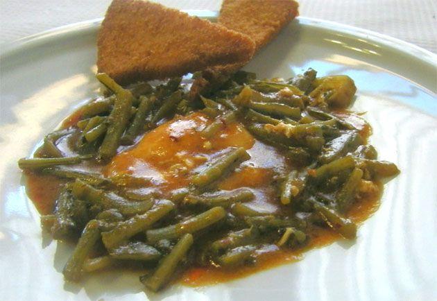Tagarninas esparragas restaurante Venta La Duquesa