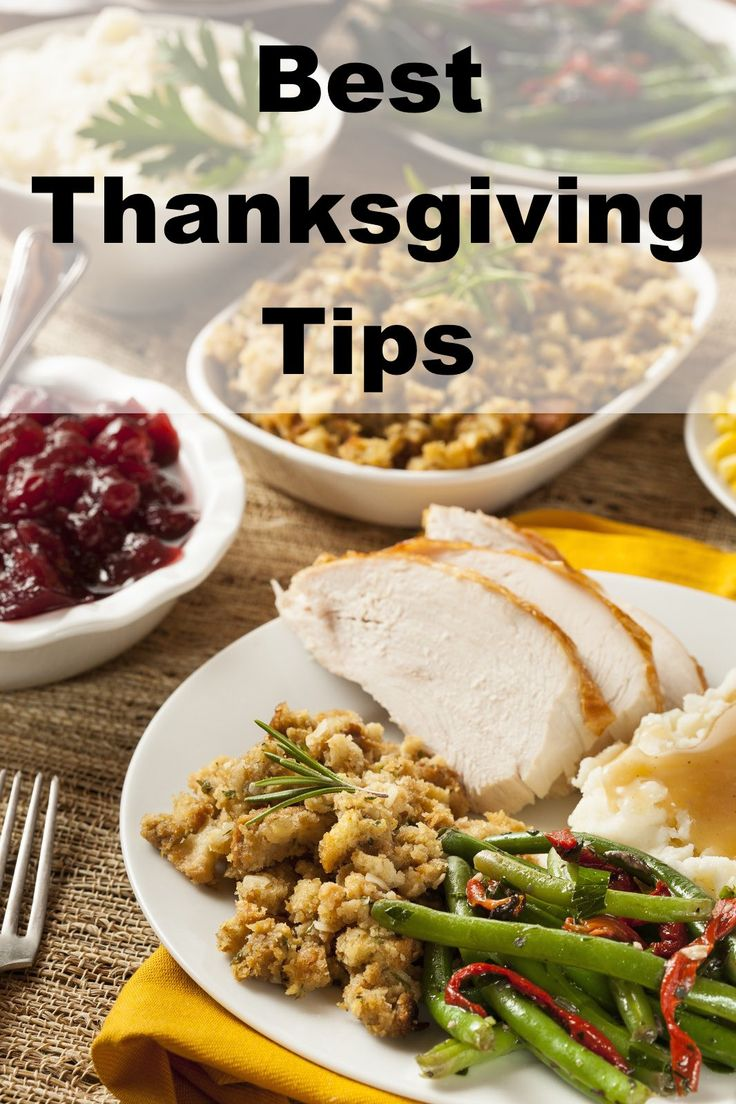 Check out the best tips for having a great Thanksgiving.