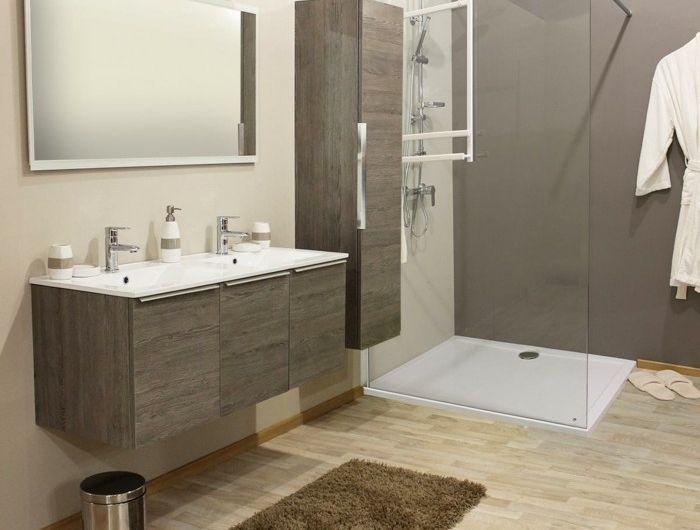 les 25 meilleures ides de la catgorie salle de bain marron sur pinterest couleurs de salle de bain couleurs marron pour salle de bain et couleurs de - Meuble Salle De Bain Beige