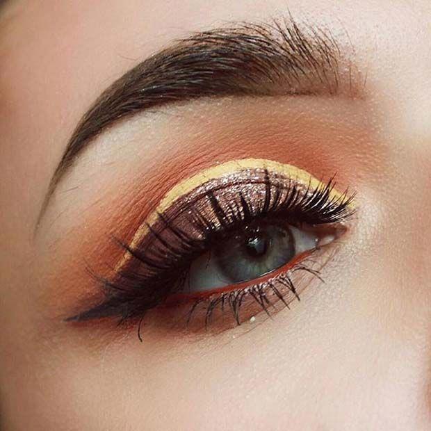 Gorgeous eye makeup lesson! #hoodedeyemakeup