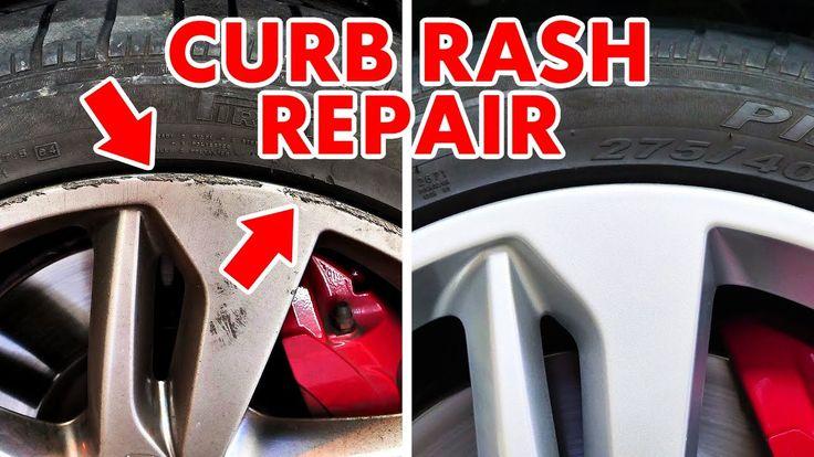 How to repair and restore wheel curb rash and rim