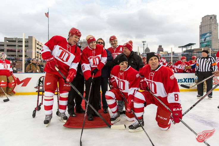 The Russian Five Reunited at the Winter Classic -Sergei ...